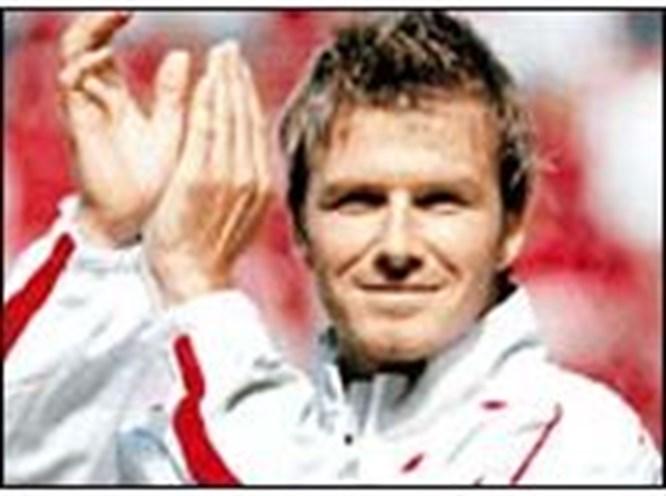 Beckham'a eşek şakası